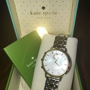 Kate Spade smart watch  2 toned gold and silver